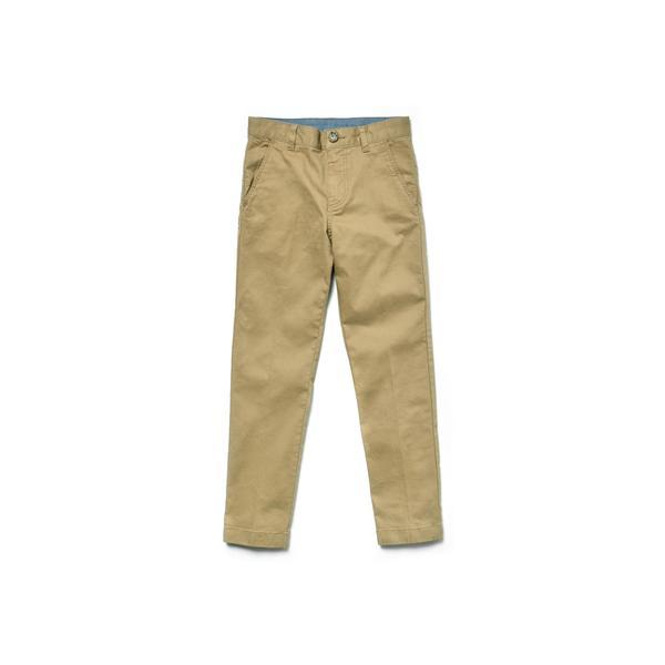 Lacoste Çocuk Kahverengi Gabardin Pantolon