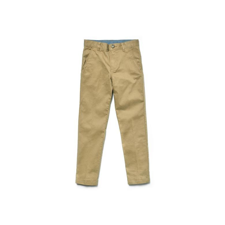 Lacoste Çocuk Kahve Gabardin Pantolon