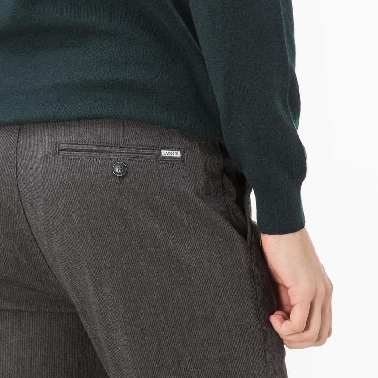 Lacoste Erkek Gri Pantolon