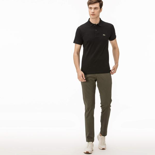 Lacoste Erkek Slim Fit Haki Chino Pantolon