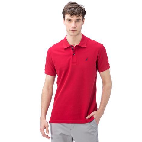 Nautica Erkek Kırmızı Klasik Fit Polo