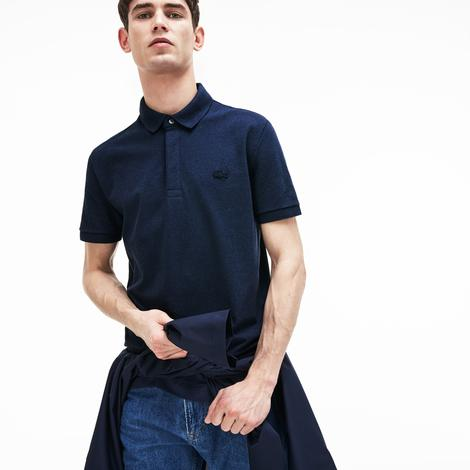 Lacoste Erkek Regular Fit Kısa Kollu Lacivert Paris Polo