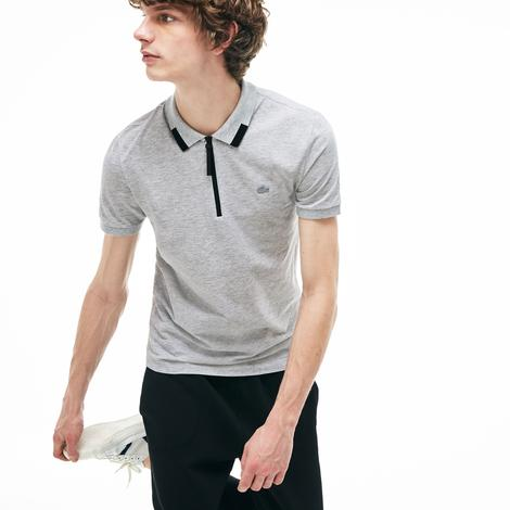 Lacoste Motion Erkek Slim Fit Gri Polo
