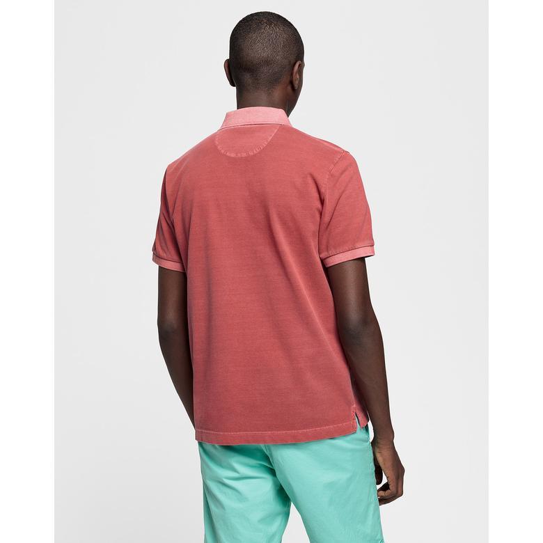 Gant Erkek Kırmızı Regular Fit Piqué Rugger Polo
