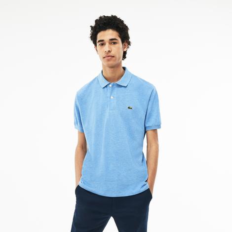 Lacoste Erkek Klasik Fit Mavi Kısa Kollu Polo
