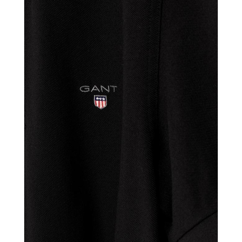 Gant Erkek Siyah Regular Fit Piqué Polo