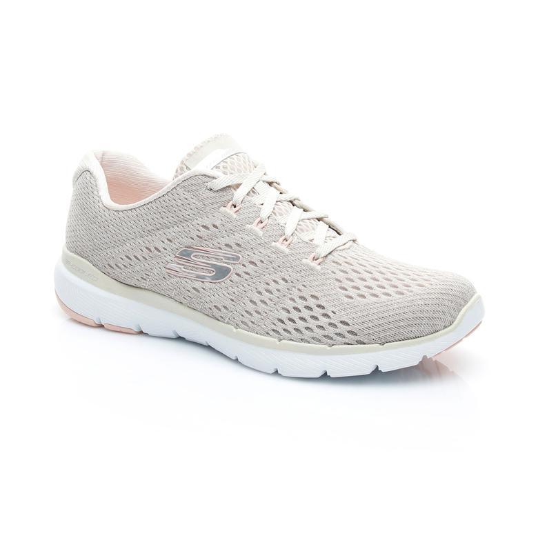 Skechers Flex Appeal Kadın Bej Sneaker