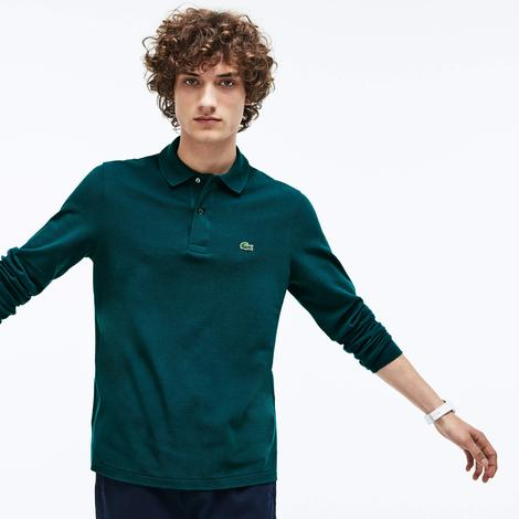 Lacoste Erkek L1312 Koyu Yeşil Polo
