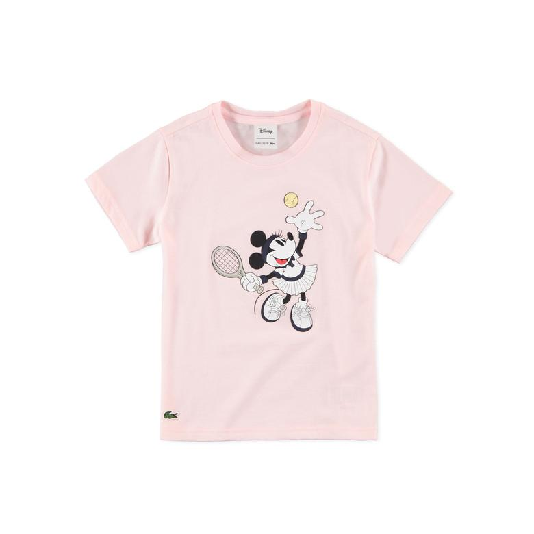 Lacoste x Disney Çocuk Pembe T-Shirt