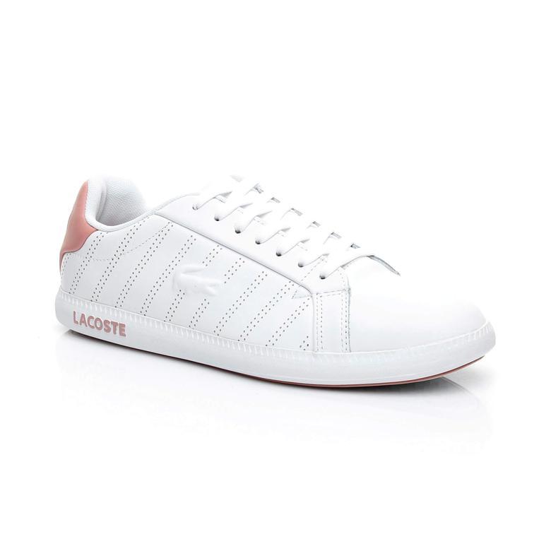Lacoste Kadın Graduate 318 1 Beyaz Sneaker