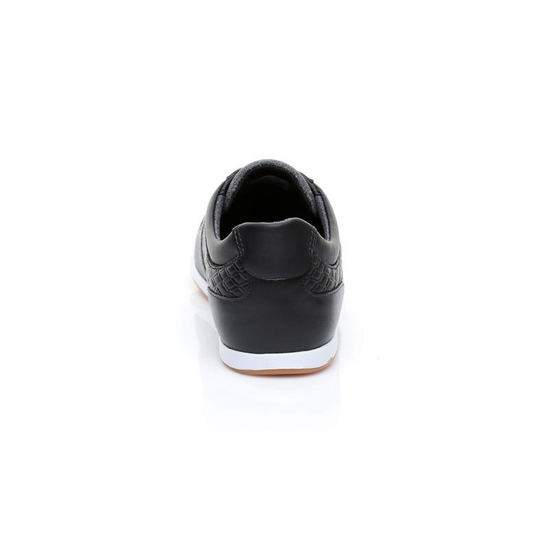 Lacoste Kadın Rey Slip 318 1 Siyah/Koyu Gri Spor Ayakkabı