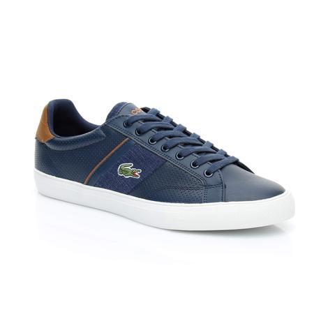 Lacoste Erkek Fairlead 318 1 Lacivert Sneaker