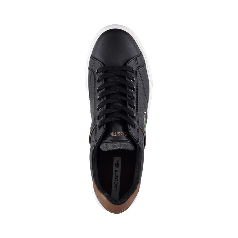 Lacoste Erkek Faırlead 318 1 Siyah Sneaker