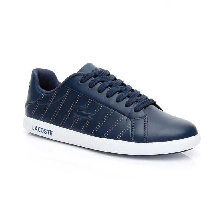 Lacoste Graduate 318 1 Kadın Lacivert Sneaker