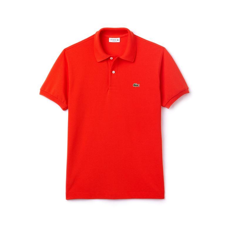 Lacoste Erkek Kırmızı L1212 Klasik Fit Polo