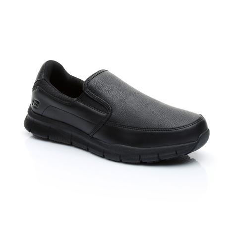 Skechers Nampa Erkek Siyah Sneaker