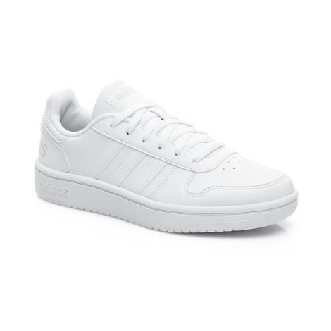 adidas Basketball Hoops 2.0 Kadın Beyaz Spor Ayakkabı