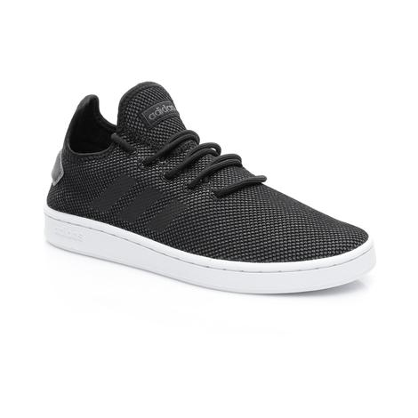 adidas Tennis Court Adapt Erkek Siyah Spor Ayakkabı