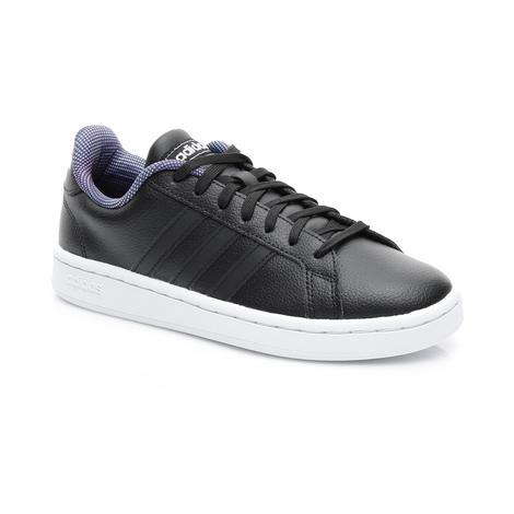 adidas Tennis Grand Court Kadın Siyah Spor Ayakkabı