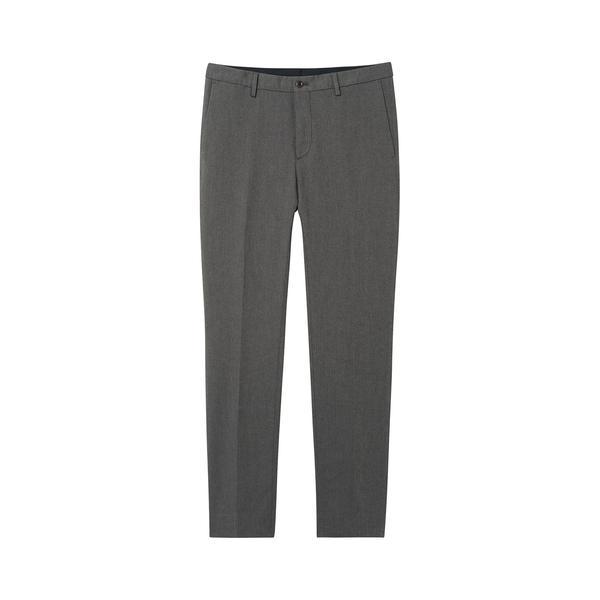 Gant Erkek Gri Slim Herringbone Slacks Pantolon