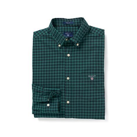 Gant Erkek Yeşil Winter Twill Regular Fit Gömlek