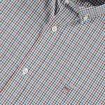 Gant Erkek Yeşil Kareli Slim Fit Gömlek