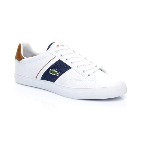 Lacoste Erkek Fairlead 318 1 Beyaz Sneaker