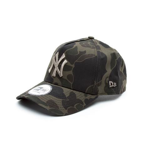 New Era Unisex Camo Yeşil Şapka