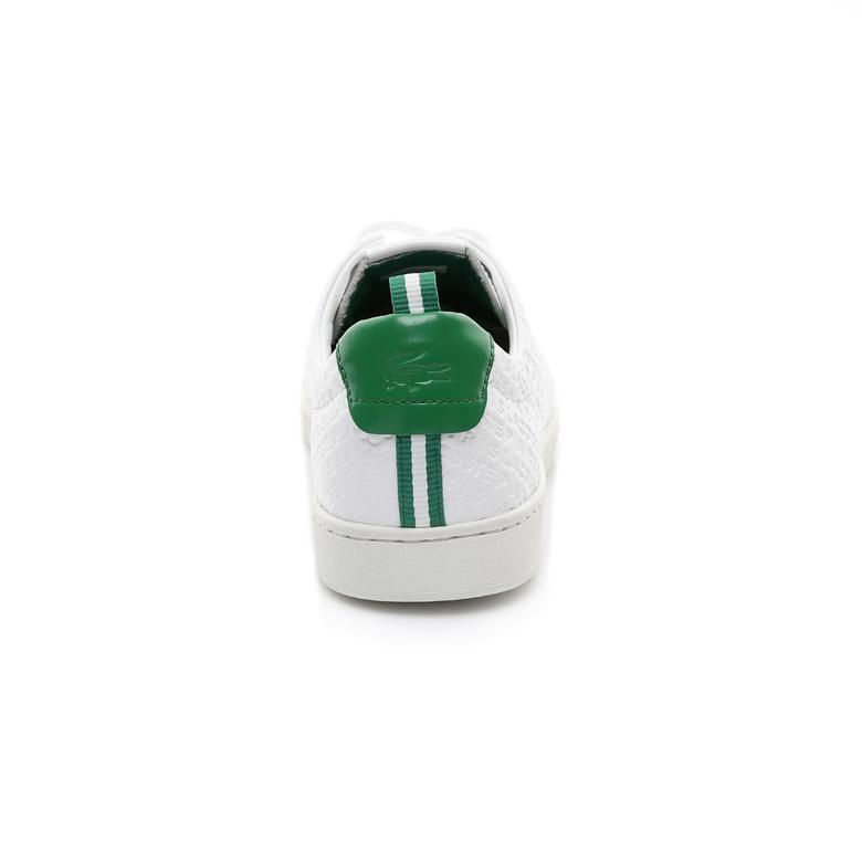 Lacoste Carnaby Evo 119 Erkek Beyaz-Yeşil Sneaker