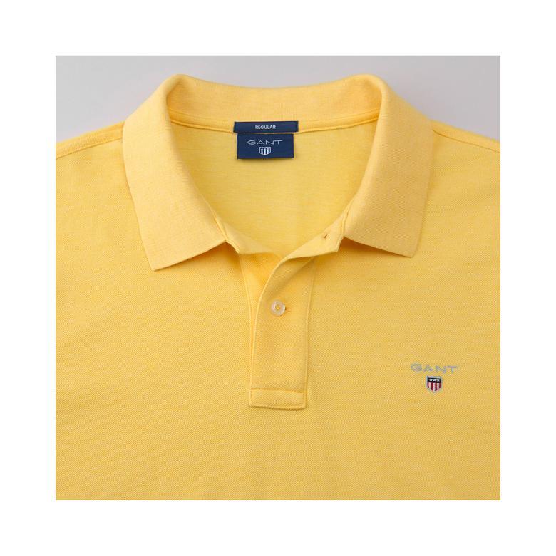 Gant Erkek Sarı Regular Pike Polo