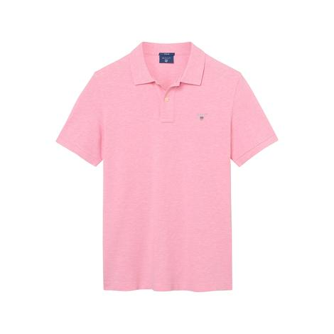 Gant Erkek Pembe Regular Fit Piqué Polo