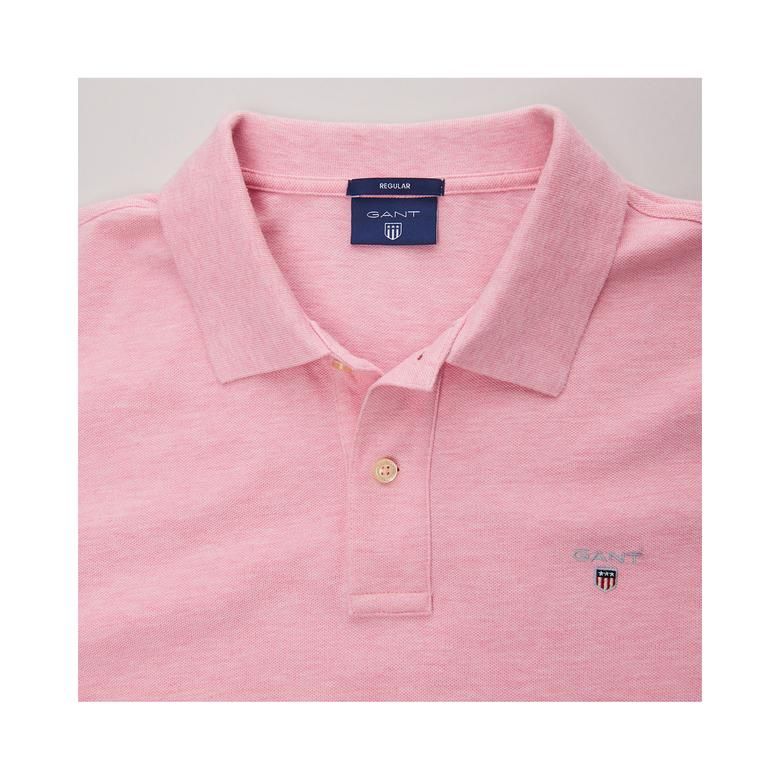 Gant Erkek Pembe Regular Pike Polo