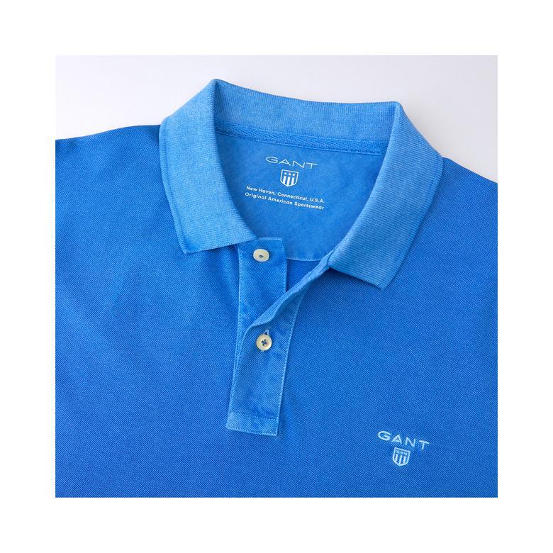 Gant Erkek Vintage Mavi Regular Fit Polo
