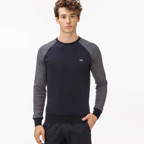 Lacoste Erkek Lacivert Uzun Kollu Sweatshirt