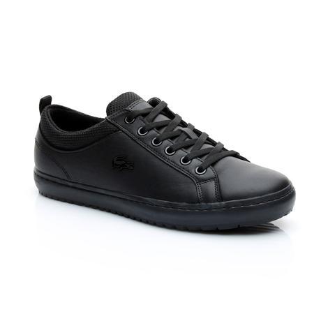 Lacoste Straightset İnsulate 3181 Kadın Siyah Sneaker
