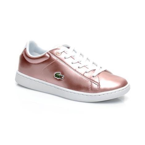 Lacoste Carnaby Evo 318 2 Pembe Çocuk Sneaker