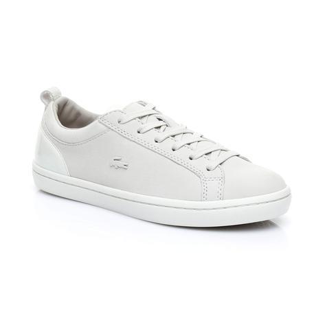 Lacoste Straightset 318 1 Kadın Bej Sneaker
