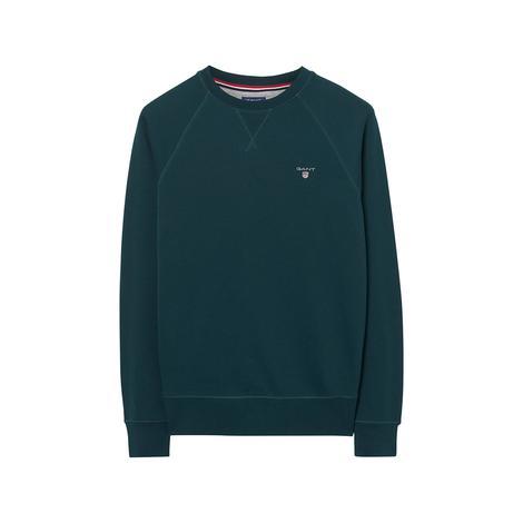 Gant Erkek Yeşil Regular Sweatshirt