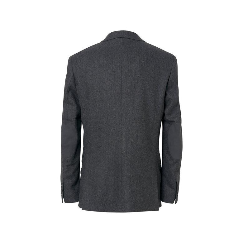 Gant Erkek Füme Herringbone Blazer Ceket