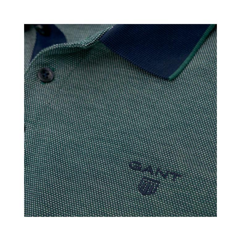 Gant Erkek Yeşil Uzun Kollu Regular Polo