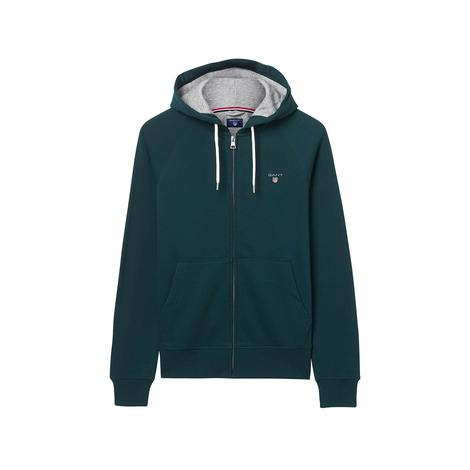 Gant Erkek Yeşil Kapüşonlu Sweatshirt