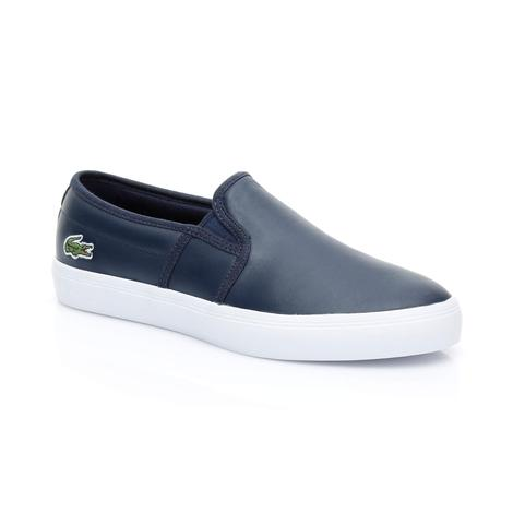 Lacoste Gazon BL 1 Kadın Lacivert Sneaker