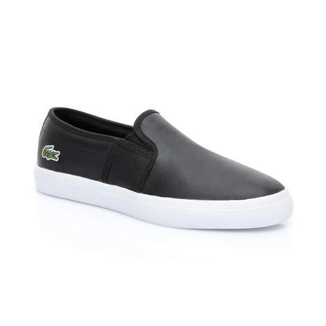 Lacoste Gazon Bl 1 Kadın Siyah  Sneaker