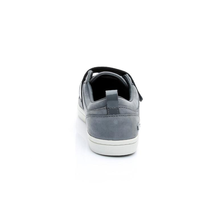 Lacoste Straightset Strap Kadın Gri Sneaker