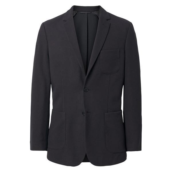 Gant Erkek Siyah Slim Woollen Jersey Blazer Ceket