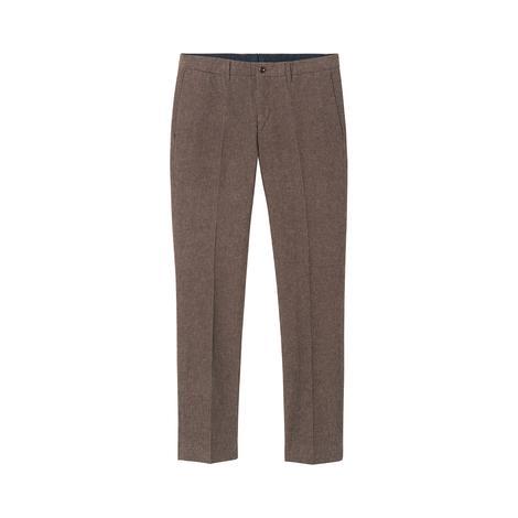 Gant Erkek Kahverengi Slim Salt Pepper Slacks Pantolon