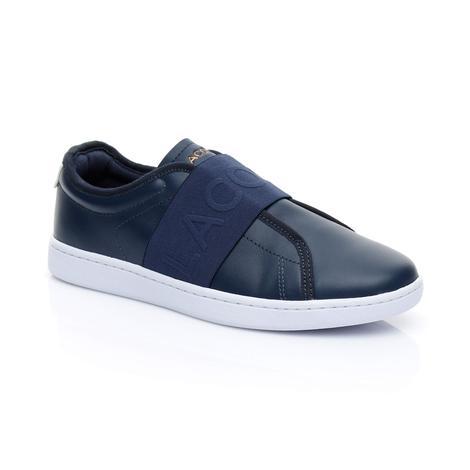 Lacoste Kadın Carnaby Evo Slip 318 1 Lacivert Sneaker