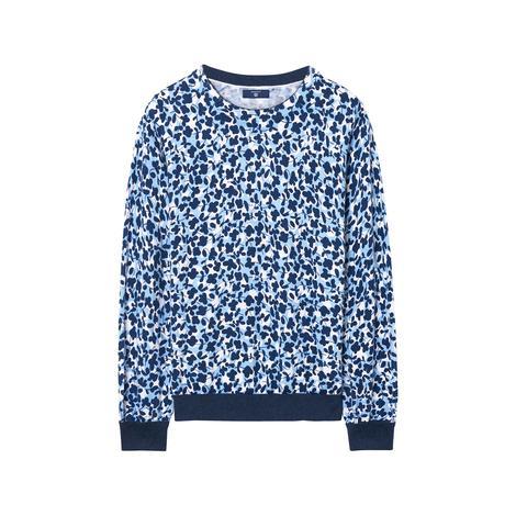 Gant Kadın Mavi Desenli Triko