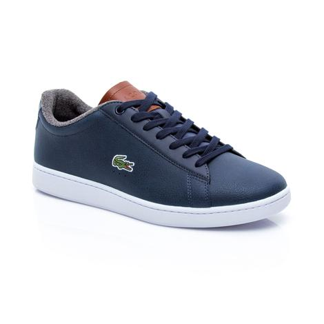 Lacoste Erkek Carnaby Evo 318 2 Lacivert Sneaker
