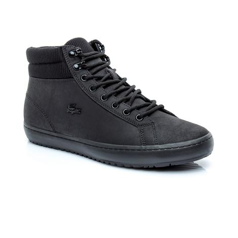 Lacoste Erkek Straightset Insulac 3181 Siyah Ayakkabı